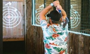 75-Minutes of Axe Throwing for 2 People, Valid Mon - Thu ($40 Value)